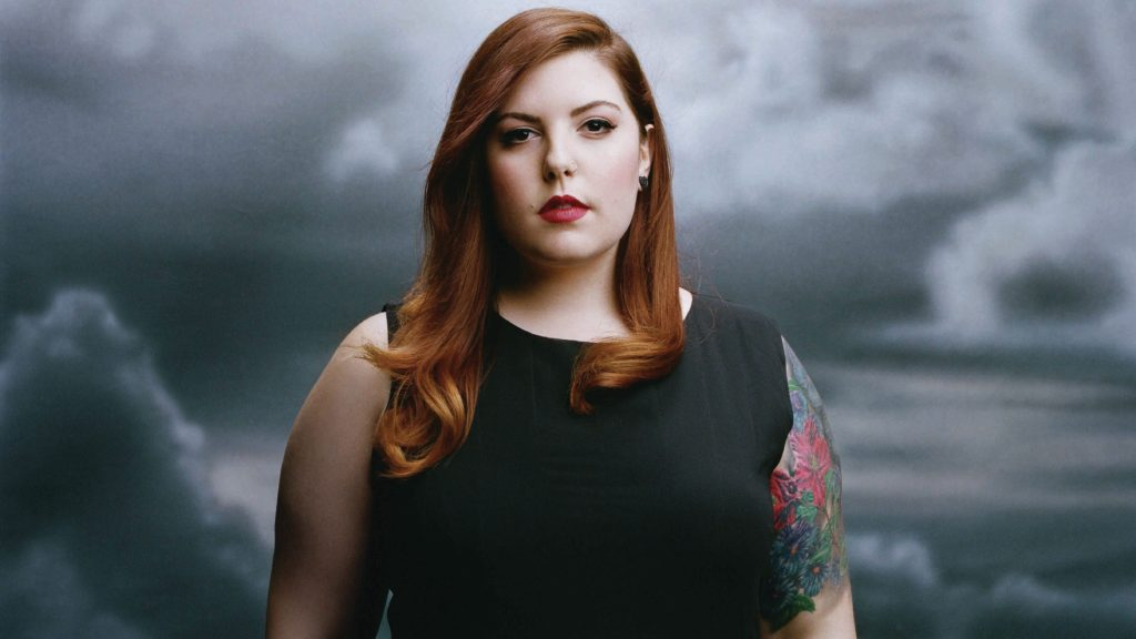 Mary Lambert's new album is called Heart On My Sleeve